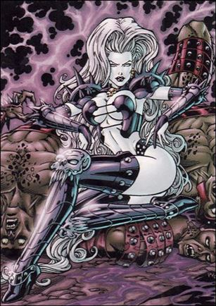 Lady Death and the Women of Chaos!: Love Bites (Base Set) 4-A