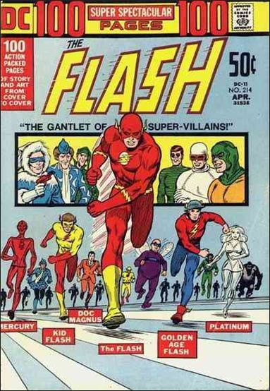 Flash (1959) 214-A by DC