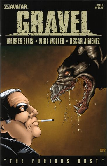 Gravel 5-A by Avatar Press