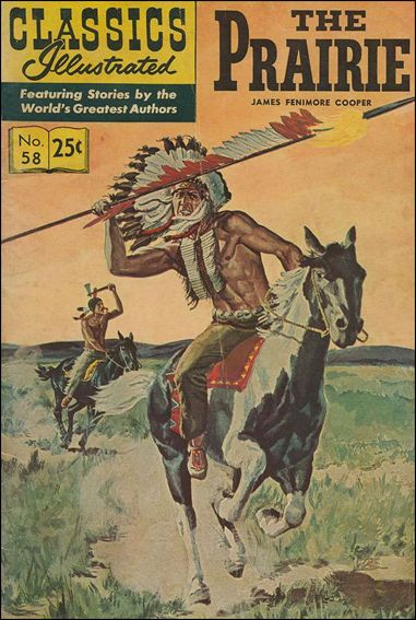 Classic Comics/Classics Illustrated 58-L by Gilberton