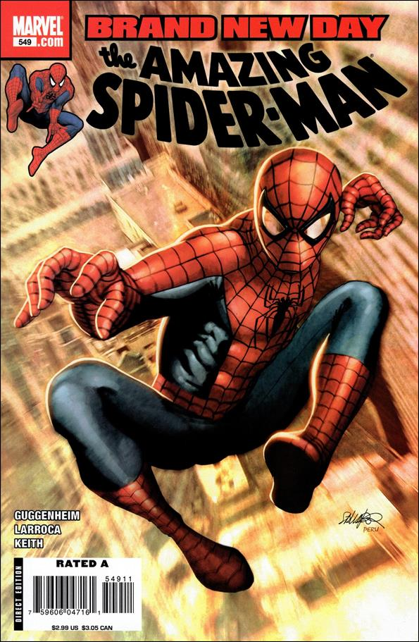Amazing Spider-Man (1963) 549-A by Marvel