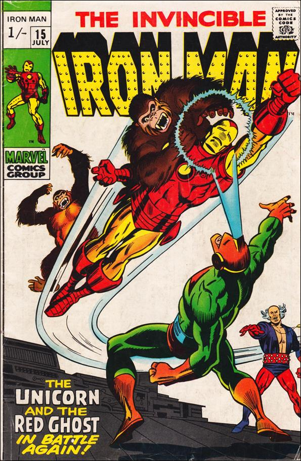 Iron Man (1968) 15-C by Marvel