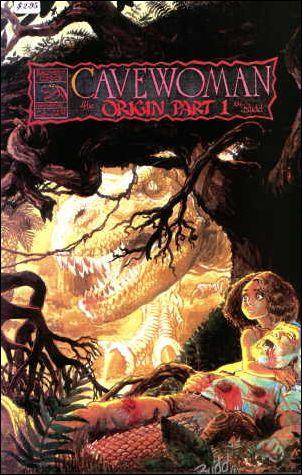 Cavewoman 3-A by Basement Studios