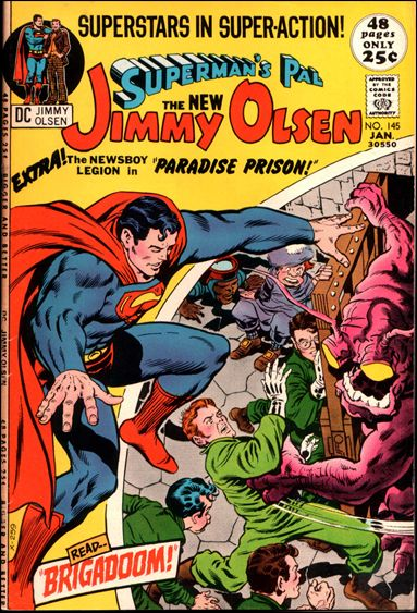 Superman's Pal Jimmy Olsen 145-A by DC