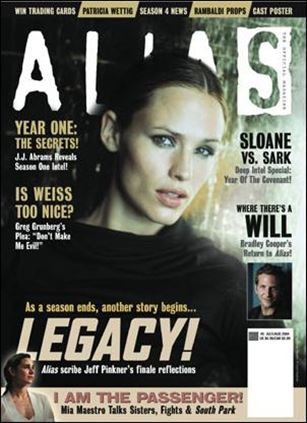 Alias: The Official Magazine 5-A