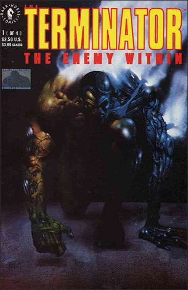 Terminator: The Enemy Within 1-A by Dark Horse