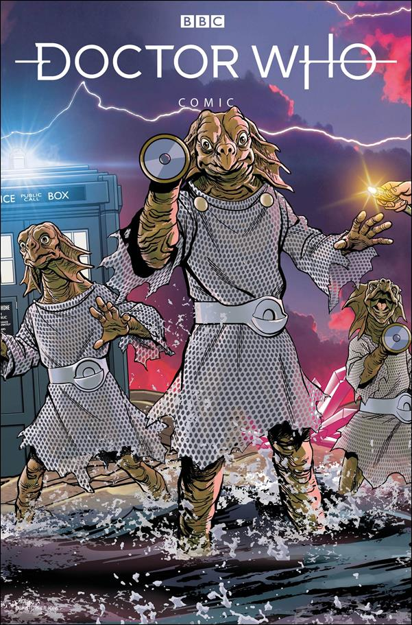 Doctor Who Comics 3-C by Titan