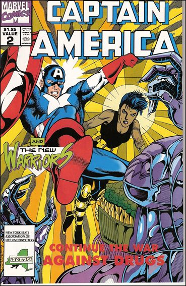 Captain America Goes to War Against Drugs 2-A by Marvel