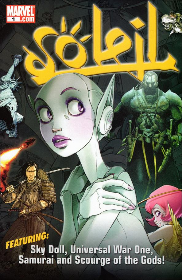 Soleil Sampler 1-A by Marvel