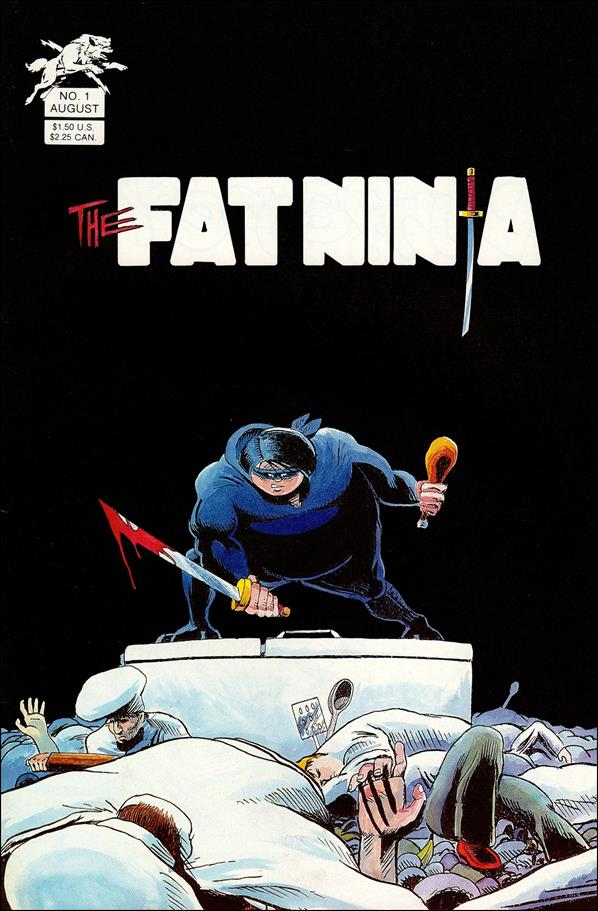 Fat Ninja (1986) 1-A by Silverwolf