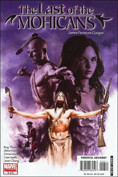 Marvel Illustrated: The Last of the Mohicans 6-A by Marvel