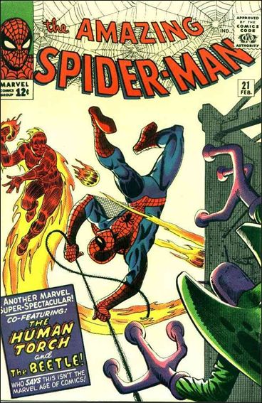 Amazing Spider-Man (1963) 21-A by Marvel
