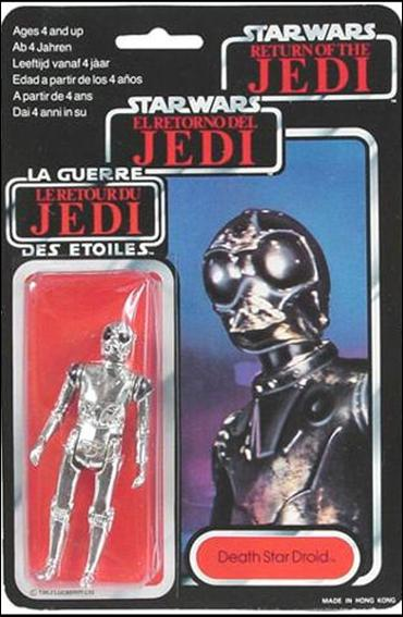 "Star Wars 3 3/4"" Basic Action Figures (Vintage) Death Star Droid (Tri-Logo) by Kenner"
