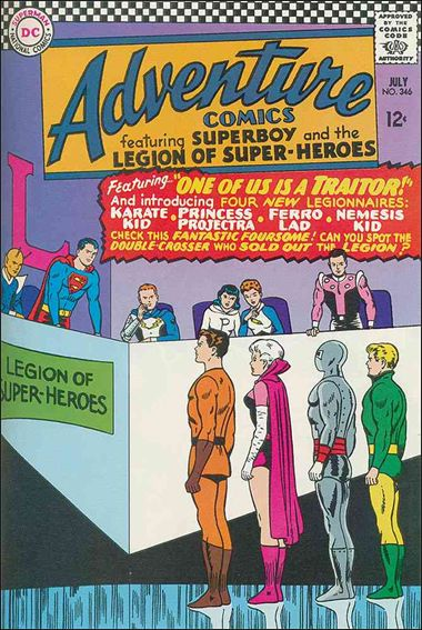 Adventure Comics (1938) 346-A by DC