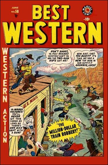 Best Western 58-A by Marvel