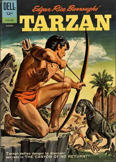 Tarzan (1948) 131-A by Dell
