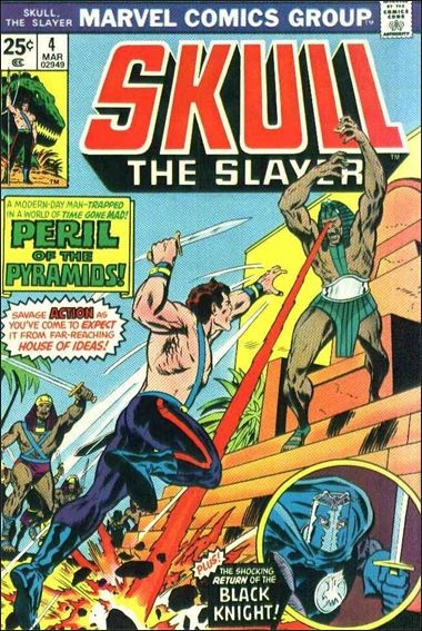 Skull the Slayer 4-A by Marvel