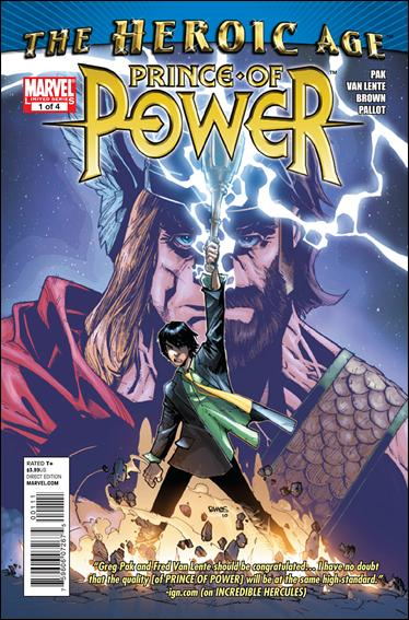 Heroic Age: Prince of Power 1-A by Marvel