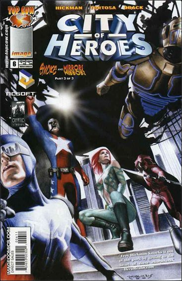 City of Heroes (2005) 6-A by Top Cow