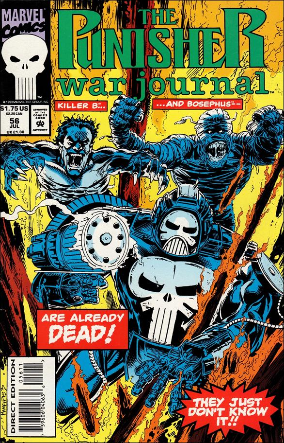 Punisher War Journal (1988) 56-A by Marvel