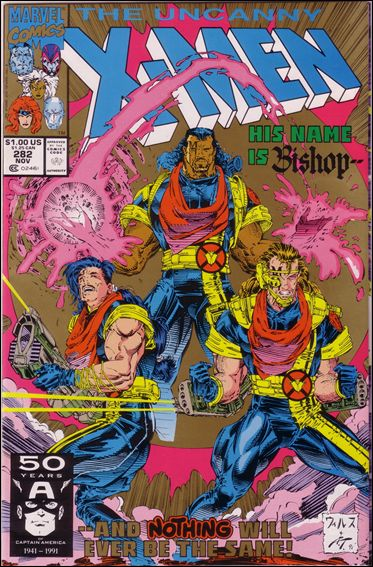 Uncanny X-Men (1981) 282-B by Marvel