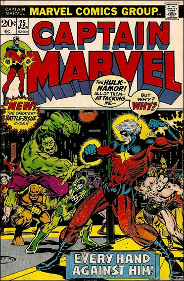 Captain Marvel (1968) 25-A by Marvel