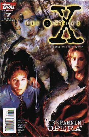 X-Files (1995) 7-A by Topps