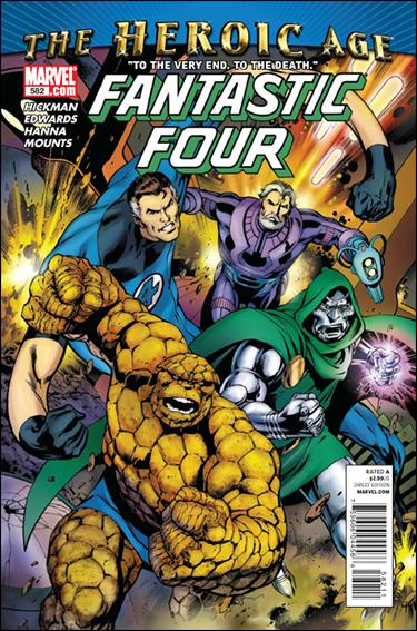 Fantastic Four (1961) 582-A by Marvel