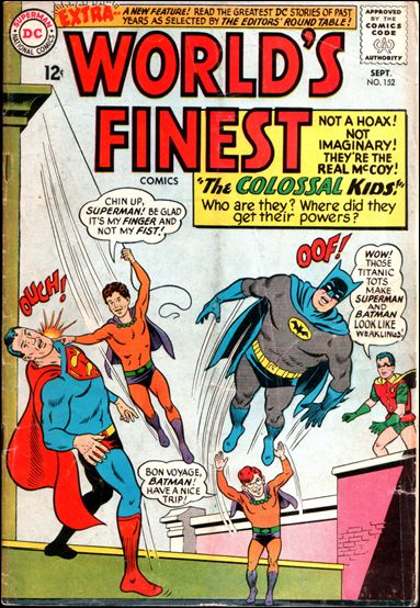 World's Finest Comics 152-A by DC