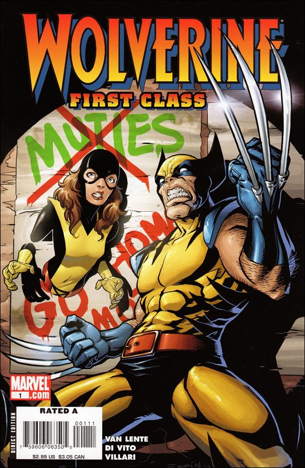 Wolverine: First Class 1-A by Marvel