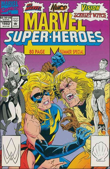 Marvel Super-Heroes (1990) Summer 1992-A by Marvel