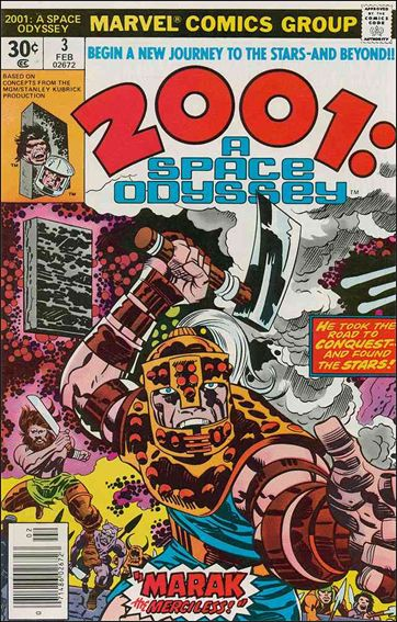2001: A Space Odyssey 3-A by Marvel