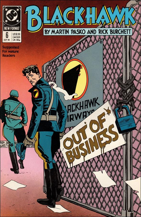 Blackhawk (1989)  6-A by DC
