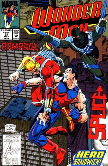 Wonder Man (1991) 21-A by Marvel