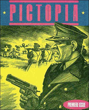 Pictopia 1-A by Fantagraphics
