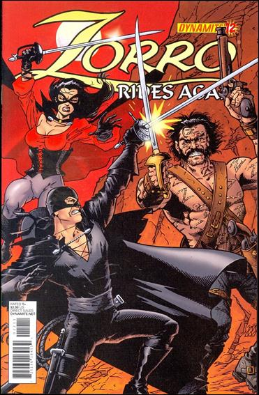 Zorro Rides Again 12-A by Dynamite Entertainment