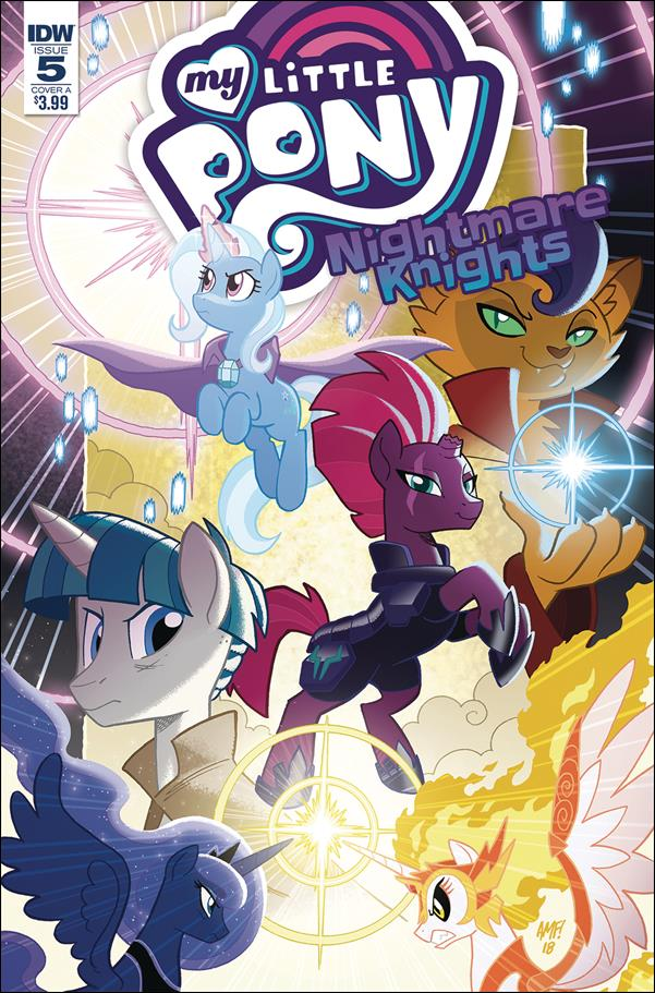 My Little Pony: Nightmare Knights 5-A by IDW