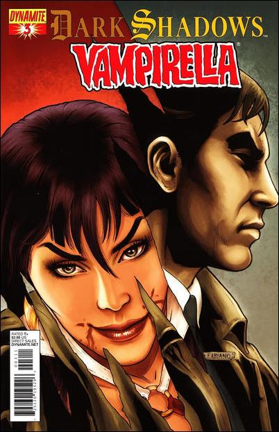 Dark Shadows / Vampirella 3-A by Dynamite Entertainment