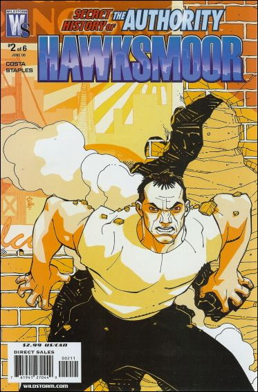 Secret History of the Authority: Hawksmoor 2-A by WildStorm