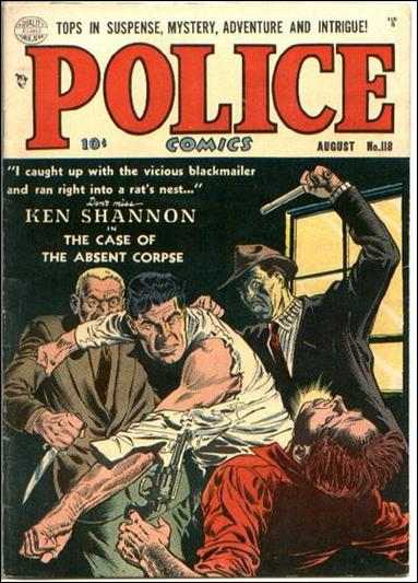 Police Comics 118-A by Comic Magazines