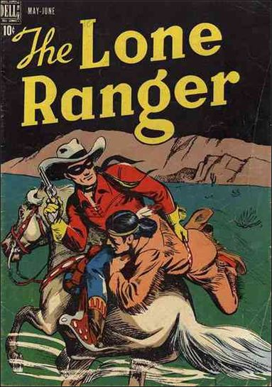Lone Ranger (1948) 3-A by Dell