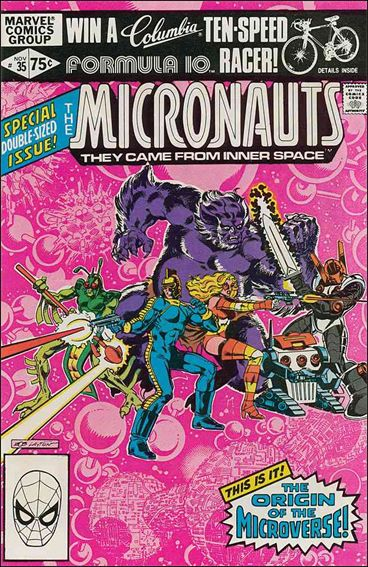 Micronauts (1979) 35-A by Marvel