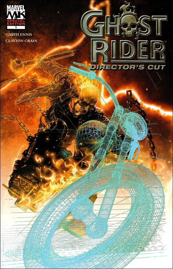 Ghost Rider (2005) 1-D by Marvel