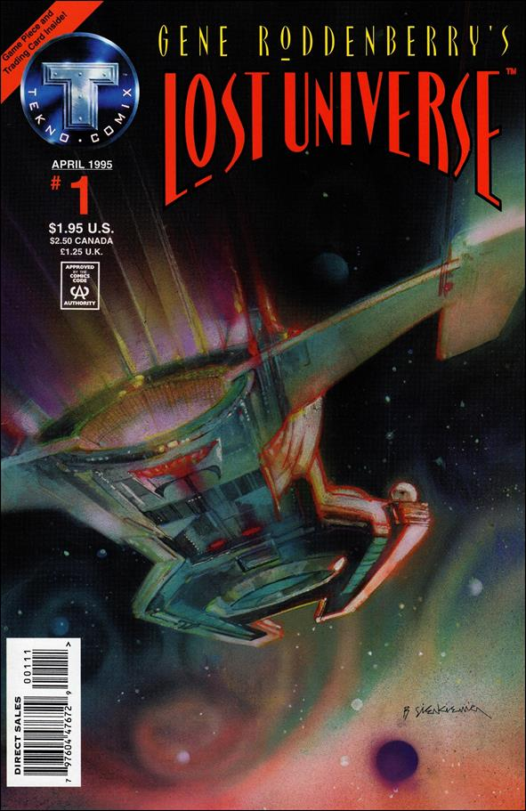 Gene Roddenberry's Lost Universe 1-A by Tekno•Comix
