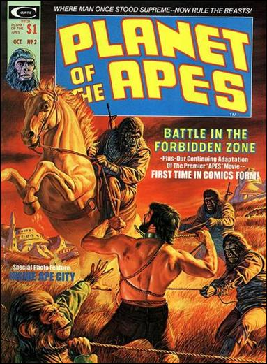 Planet of the Apes (1974) 2-A by Marvel