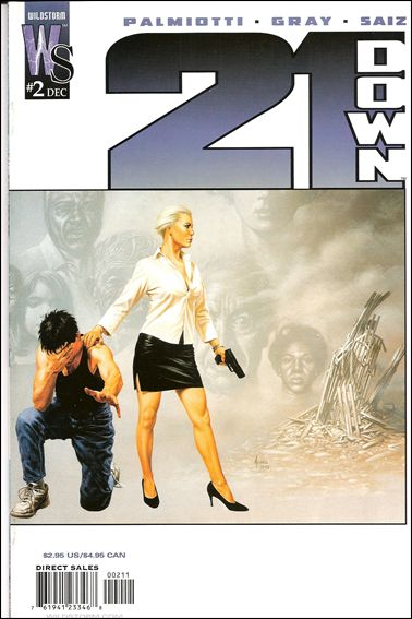 21 Down 2-A by WildStorm