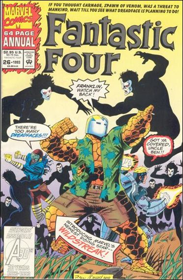 Fantastic Four Annual  26-B by Marvel