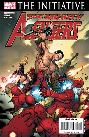 Mighty Avengers (2007) 4-A by Marvel
