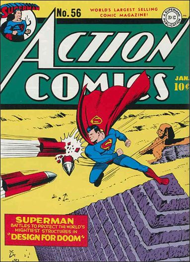 Action Comics (1938) 56-A by DC