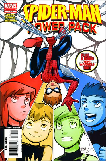 Spider-Man and Power Pack 2-A by Marvel